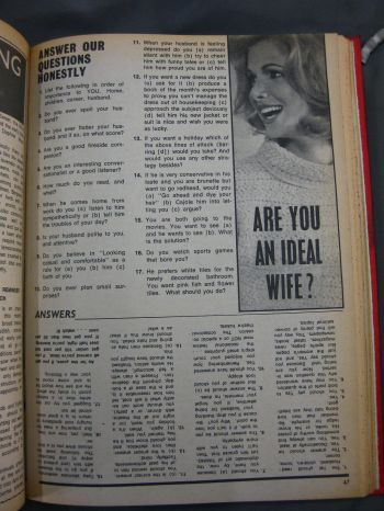 Woman's Choice magazine, 4 March 1969