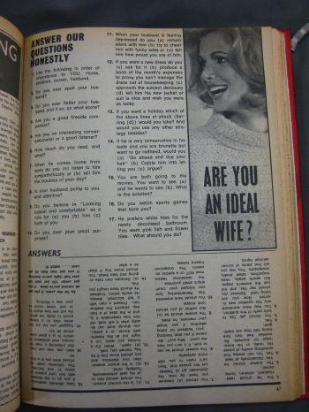 Woman's Choice magazine, 4 March 1969