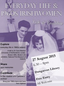 Road Show & Talk: Dungarvan Library (27 August 2015)